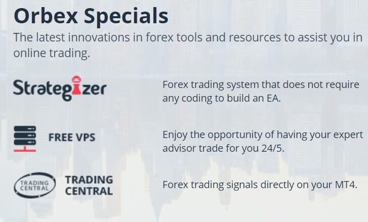 Orbex forex review