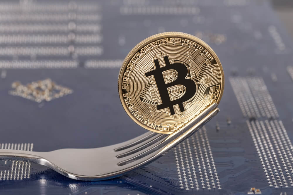 what is a cryptocurrency fork
