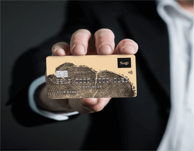 Sugi crypto wallet card
