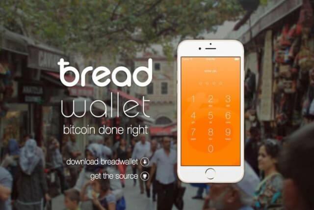 Bread Wallet app