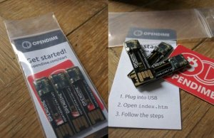 Opendime Bitcoin hardware wallet