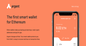 Argent crypto wallet app