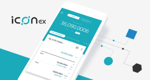 ICONEX crypto wallet app