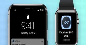 Natrium crypto wallet mobile app