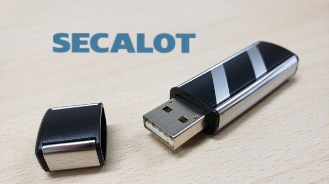 Secalot hardware crypto wallet