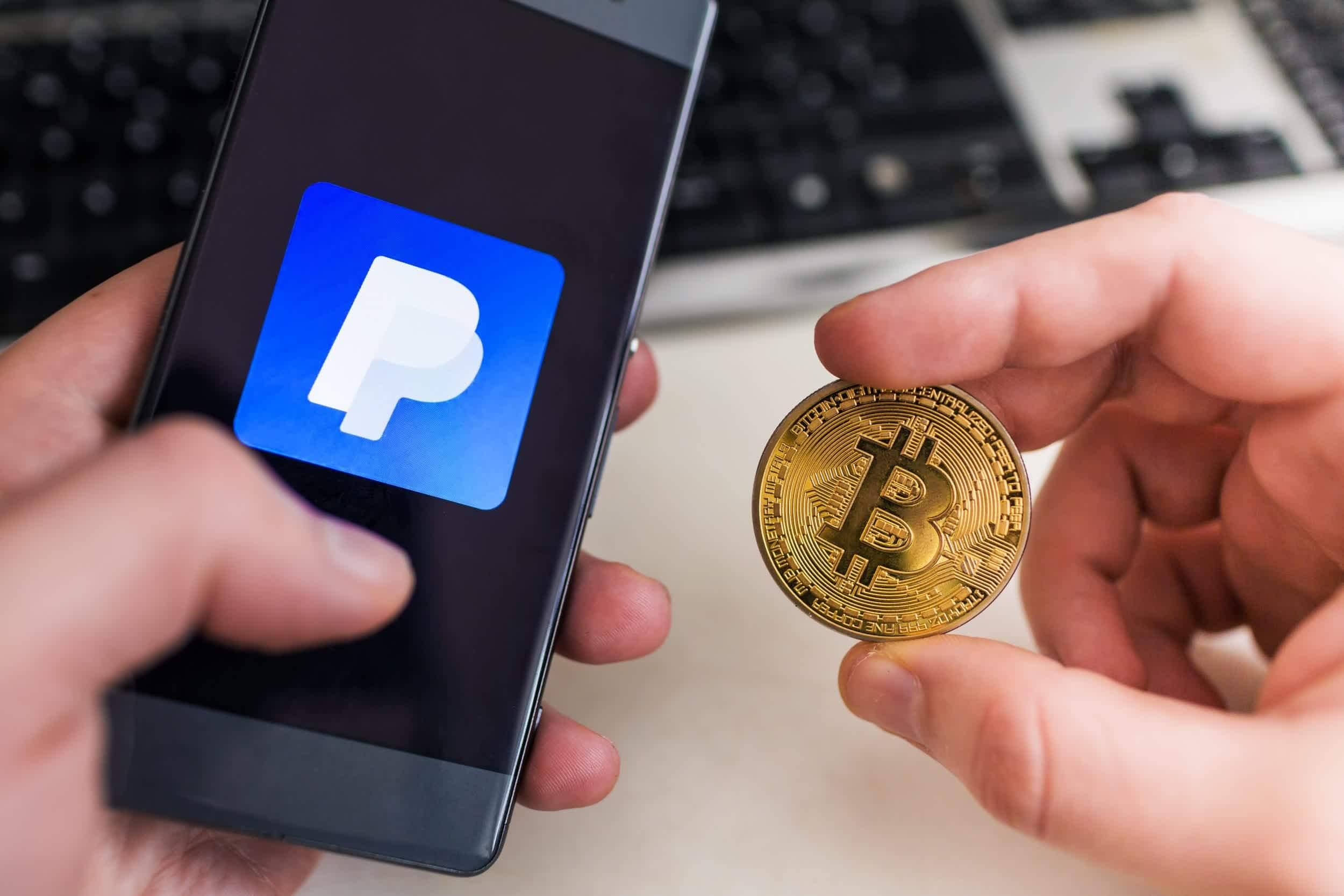 bitcoin market paypal)