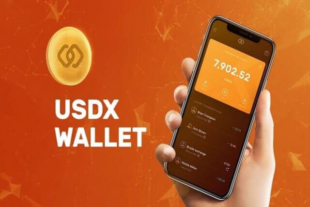 USDX Crypto wallet